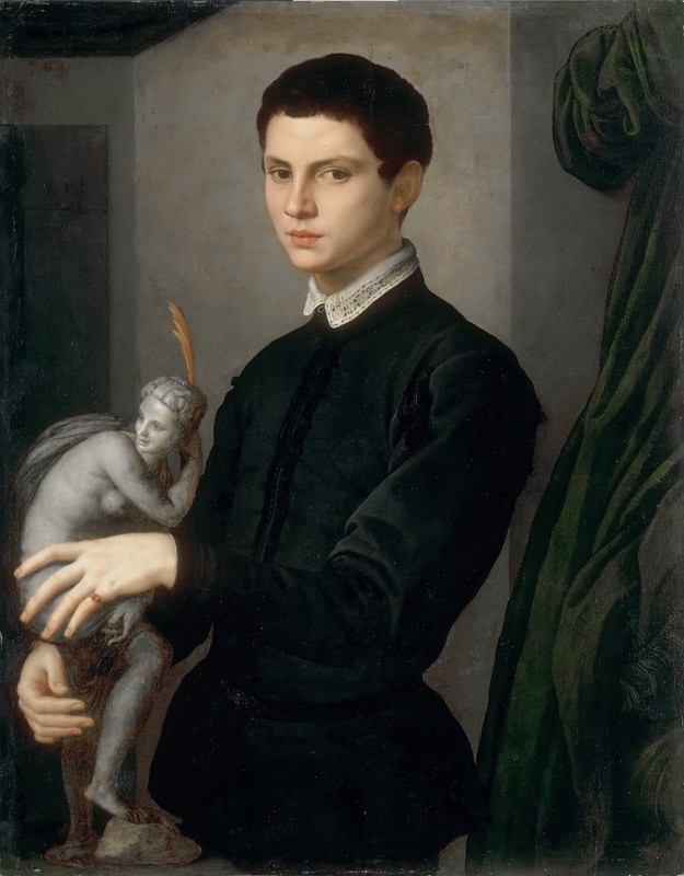Agnolo Bronzino -- Portrait of a Sculptor