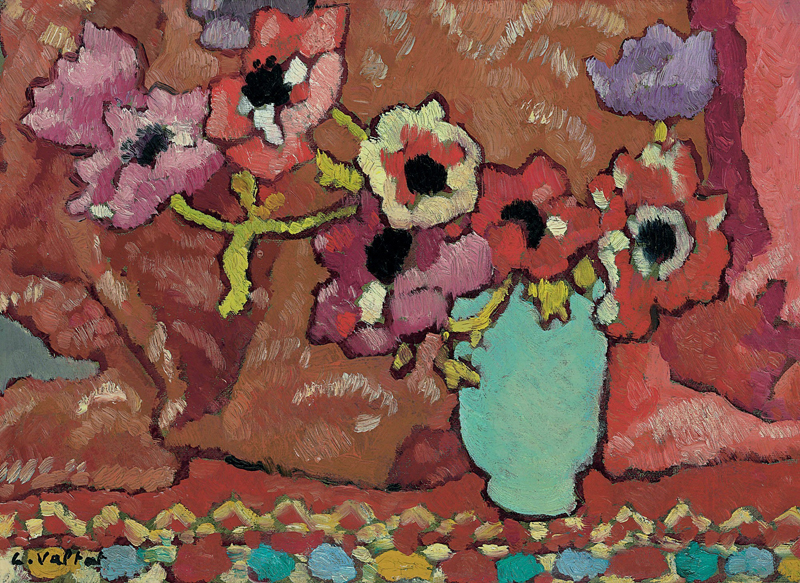 Anemones in a Green Jug, 1940