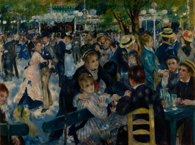 Auguste Renoir -Dance at Le Moulin de la Galette