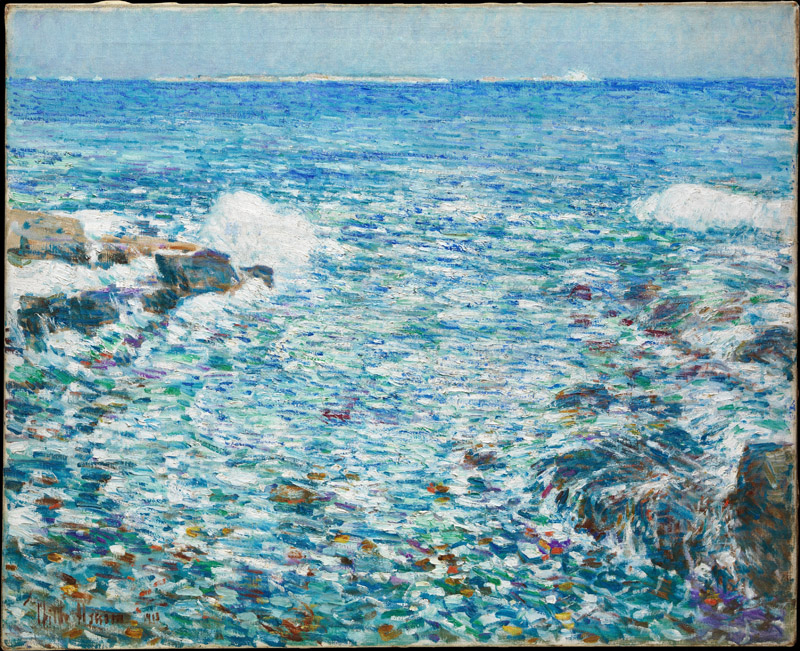 Childe Hassam--Surf, Isles of Shoals