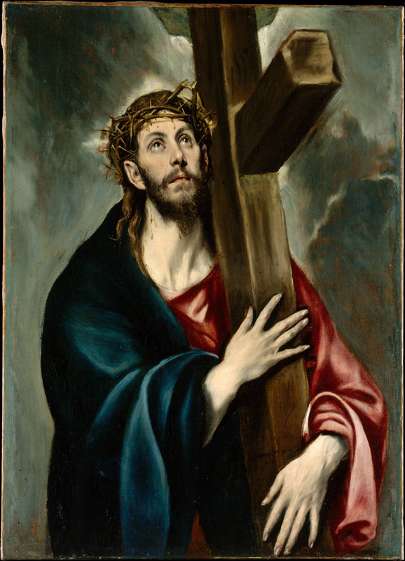 El Greco--Christ Carrying the Cross