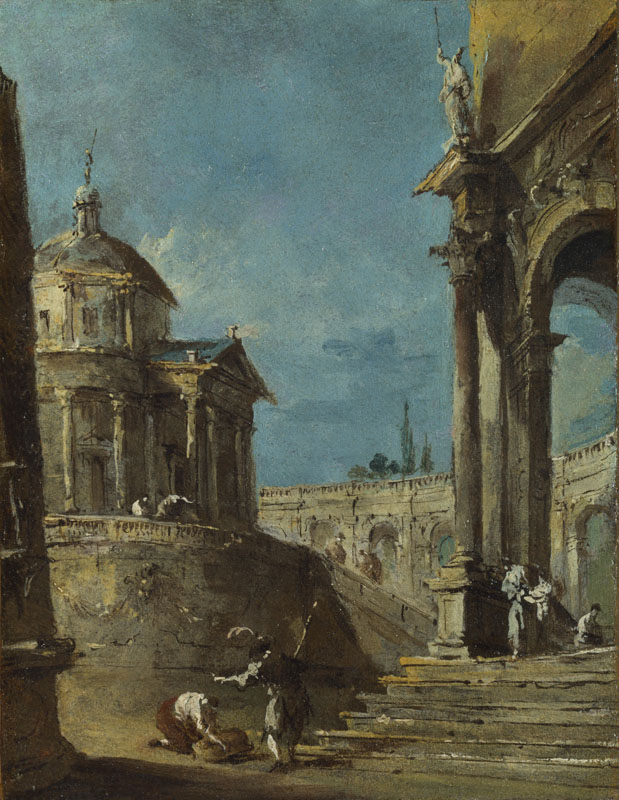 Francesco Guardi - An Architectural Caprice II