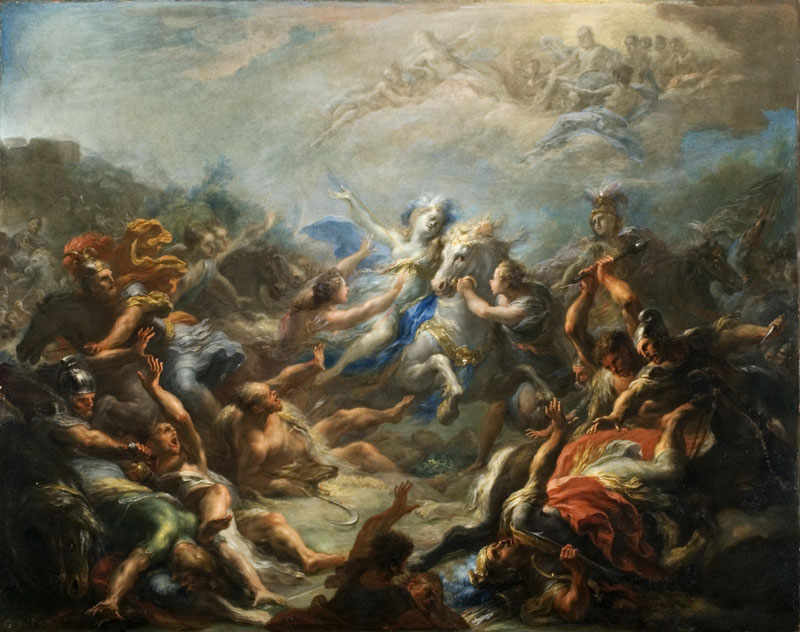 Giacomo del Po - Camillia at War from Virgil Aeneid