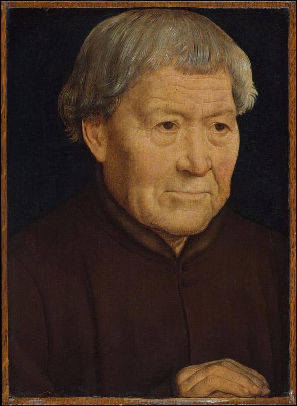 Hans Memling--Portrait of an Old Man