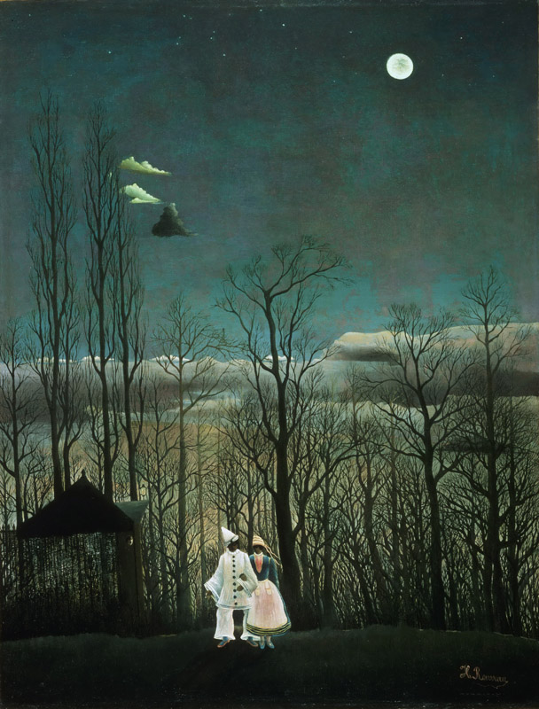 Henri-Julien-Felix Rousseau, French, 1844-1910 -- Carnival Evening