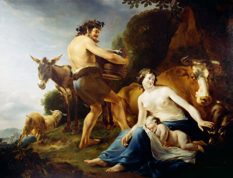 Jacob Adriaensz Bellevois - The Infancy of Zeus