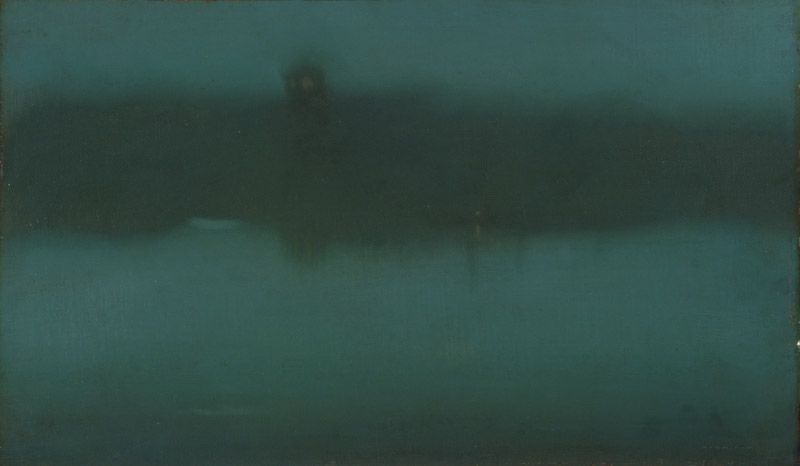 James Abbott McNeill Whistler, American (active England), 1834-1903 -- Nocturne
