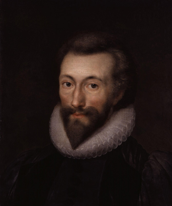 John Donne by Isaac Oliver