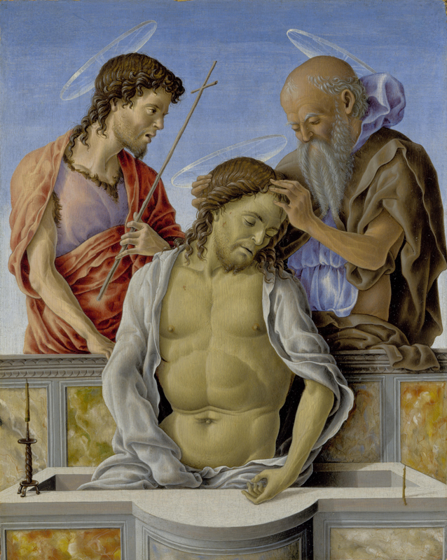 Marco Zoppo - The Dead Christ supported by Saints