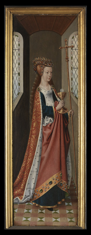 Meester van de Ursulalegende - The Legend of Saint Ursula, the Church and the Synagogue d01