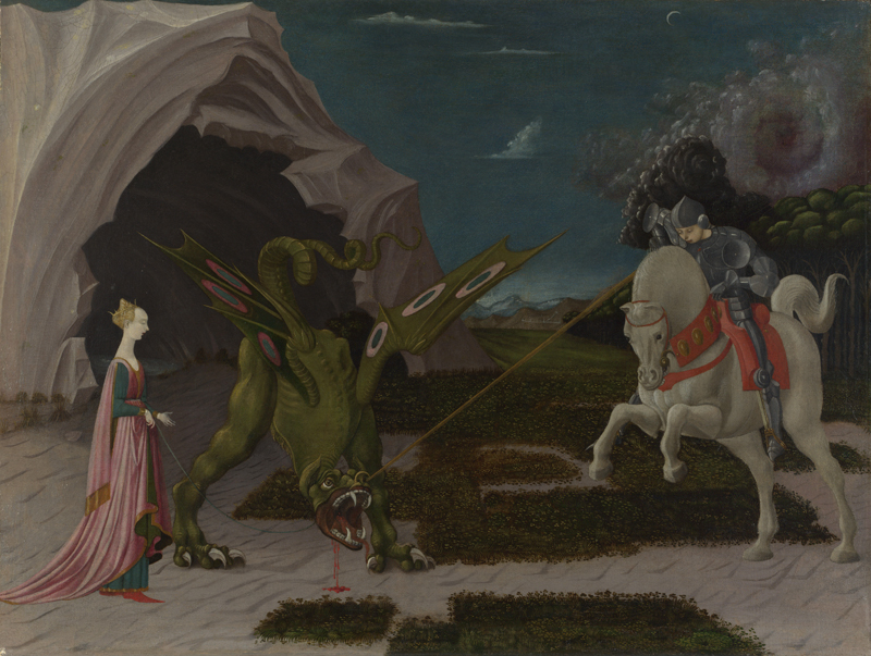 Paolo Uccello - Saint George and the Dragon