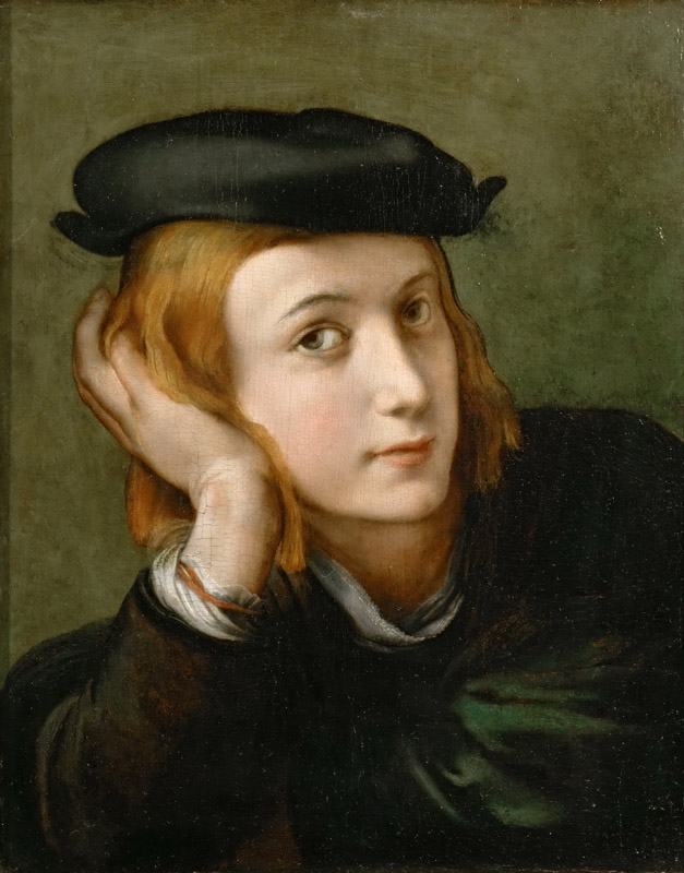 Parmigianino -- Portrait of a Young Man