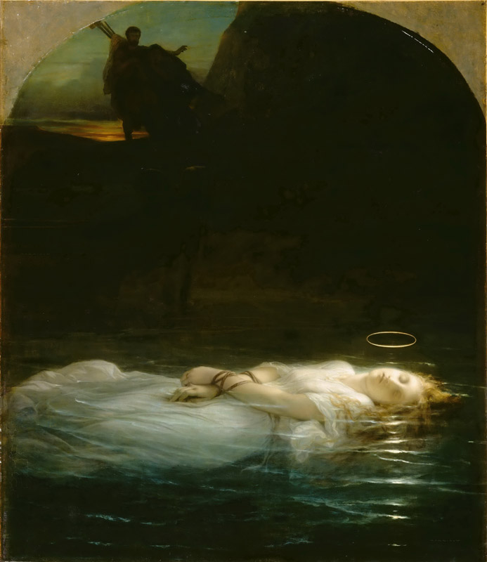 Paul Delaroche -- The young martyr