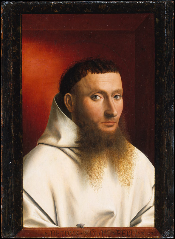 Petrus Christus--Portrait of a Carthusian