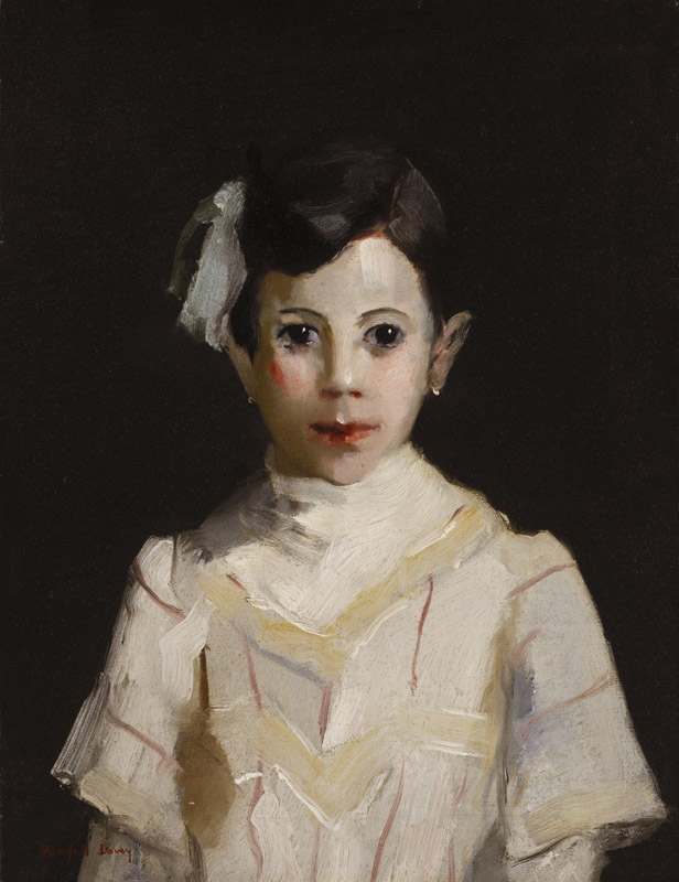 Randall Davey - Spanish Child in White, ca. 1912