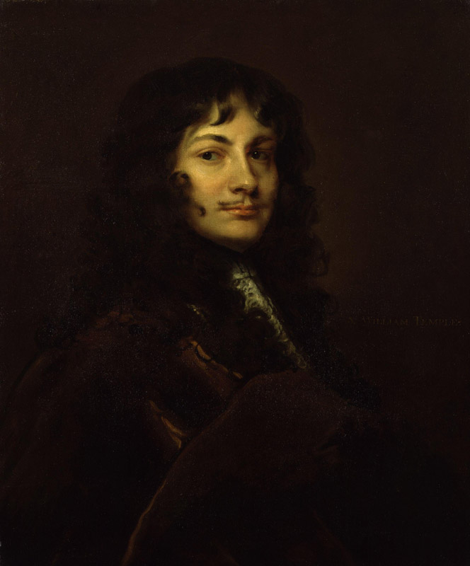 Sir William Temple, Bt by Sir Peter Lely