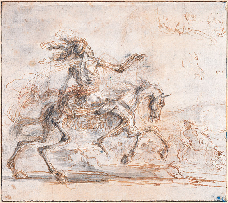 Stefano della Bella (1610-1664)-Death on the Battlefield