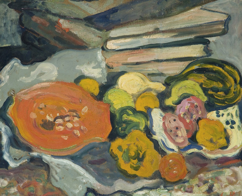 Still Life with Eggplants and Vegetables, 1905