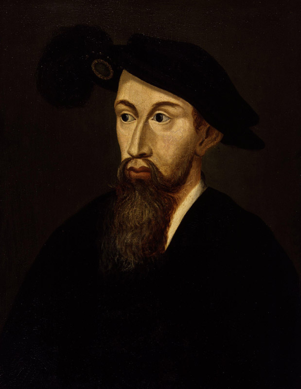 Unknown man, formerly known as Edward Seymour, 1st Duke of Somerset from NPG