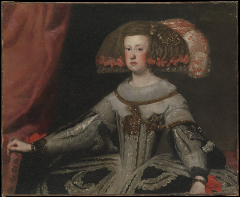 Workshop of Velazquez--Mariana of Austria (1634-1696), Queen of Spain