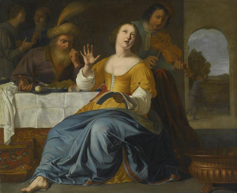 AELBERT VAN DER -ESTHER AND MORDECAI