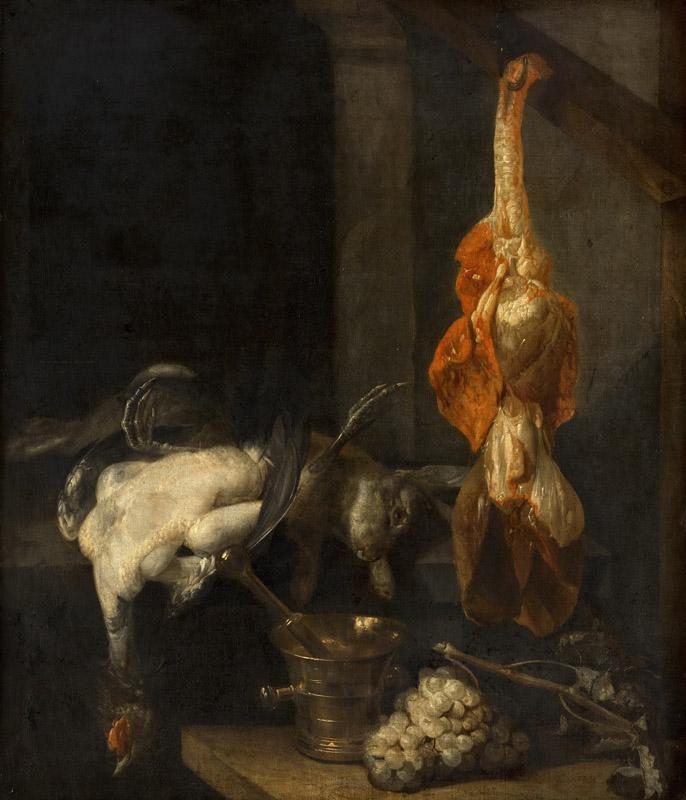 Abraham van Beyeren - Still Life with Game and Fowl