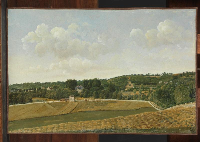 Achille-Etna Michallon--View of Chatenay