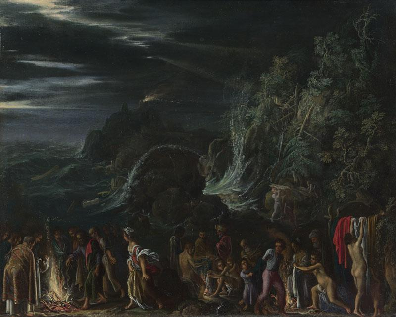 Adam Elsheimer - Saint Paul on Malta