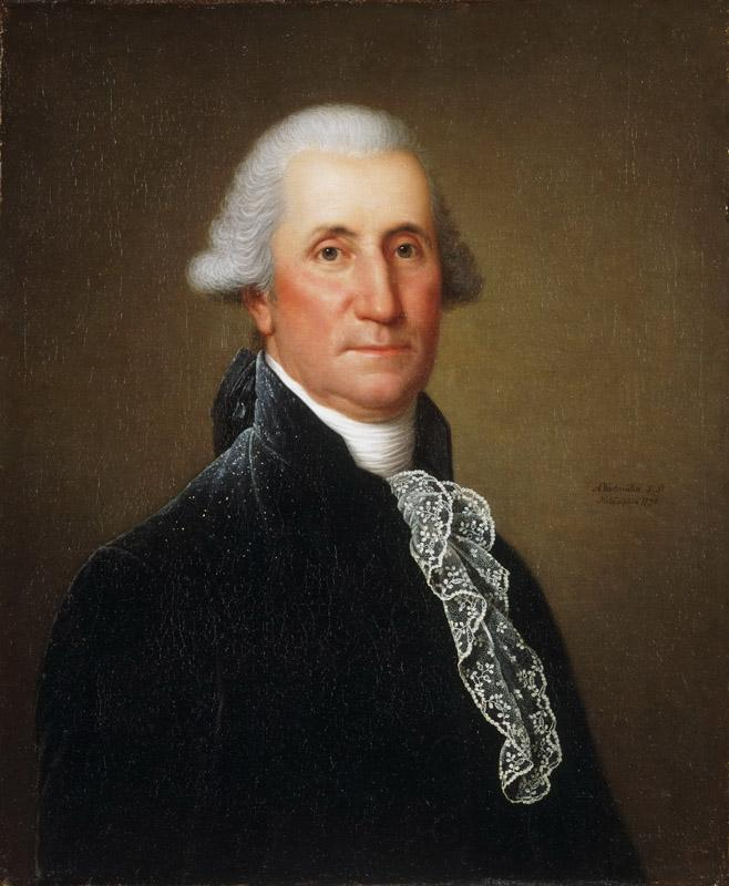 Adolph Ulrich Wertmuller, Swedish, active United States, 1751-1811 -- Portrait of George Washington