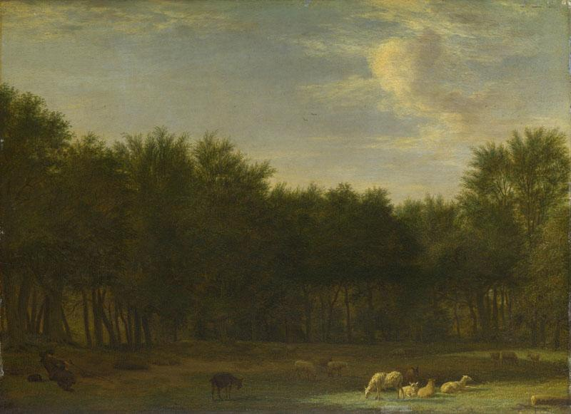 Adriaen van de Velde - The Edge of a Wood