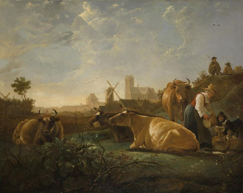 Aelbert Cuyp - The Large Dort
