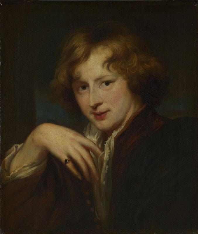 After Anthony van Dyck - Portrait of the Artist