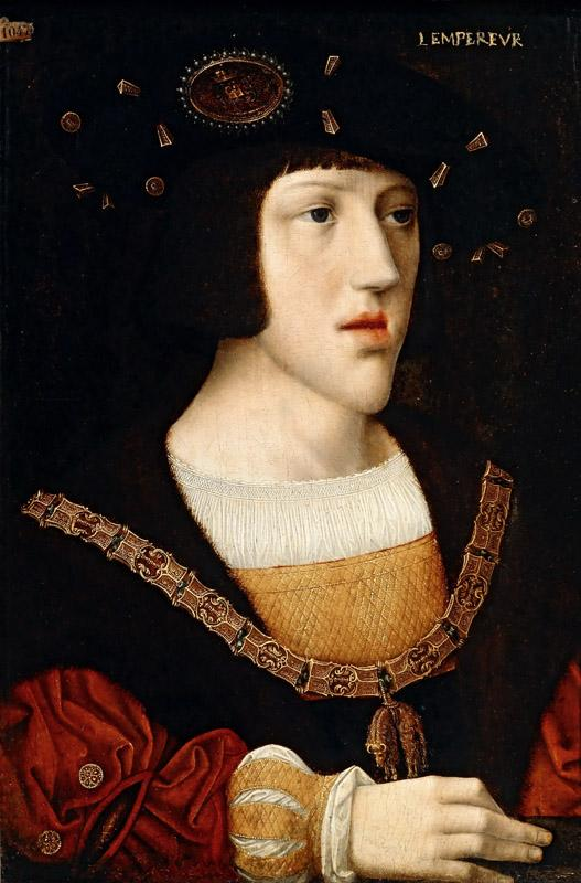 After Bernaert van Orley -- Charles of Burgundy, King of Spain