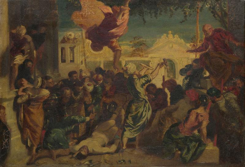 After Jacopo Tintoretto - The Miracle of Saint Mark