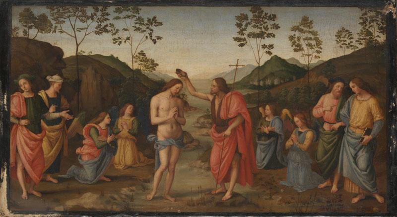After Pietro Perugino - The Baptism of Christ