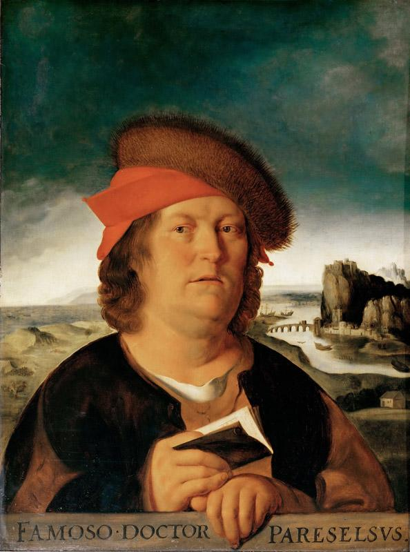 After Quinten Metsys -- Portrait of the Physician Paracelsus