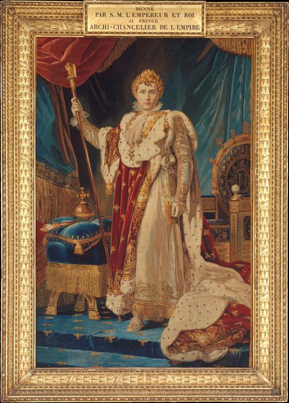 After a painting by baron Francois Gerard--Portrait of Napoleon I