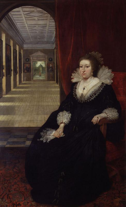 Alathea, Countess of Arundel and Surrey by Daniel Mytens