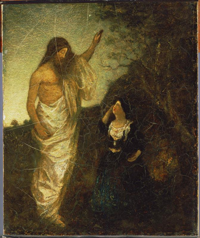 Albert Pinkham Ryder (1847-1917)-Resurrection