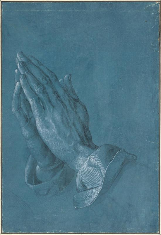 Albrecht Durer (1471-1528)-Praying Hands, 1508