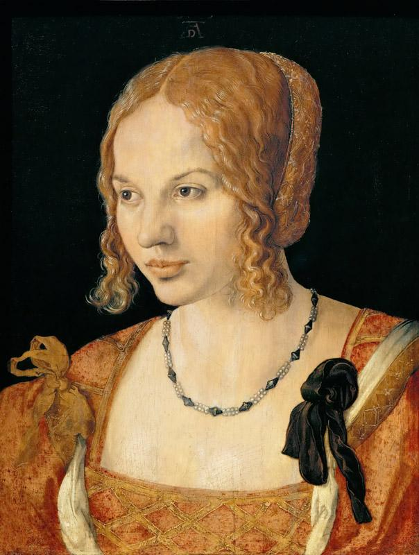 Albrecht Durer -- A Young Lady of Venice