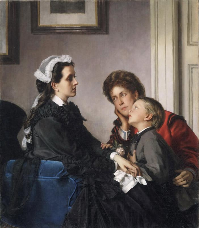 Alexandre Cabanel, French, 1823-1889 -- The Governess