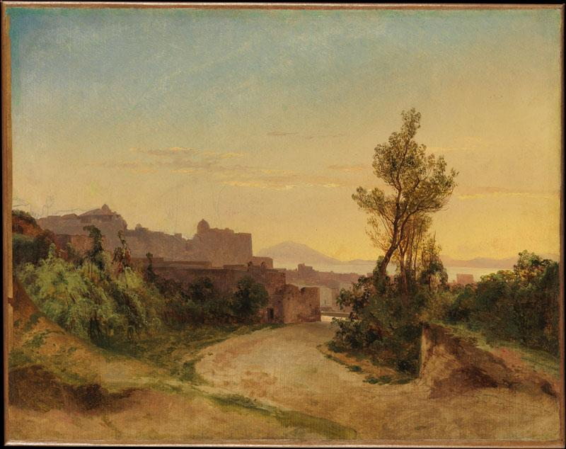 Alexandre Calame--Pozzuoli and the Bay of Naples