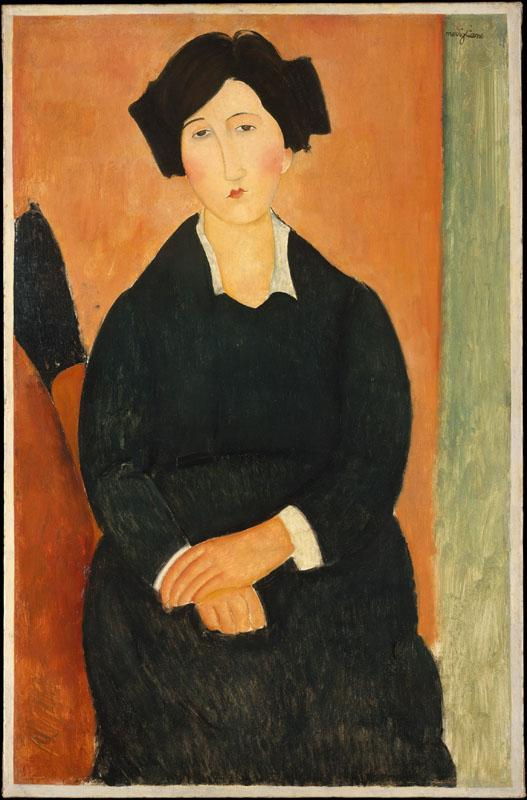 Amedeo Modigliani--The Italian Woman