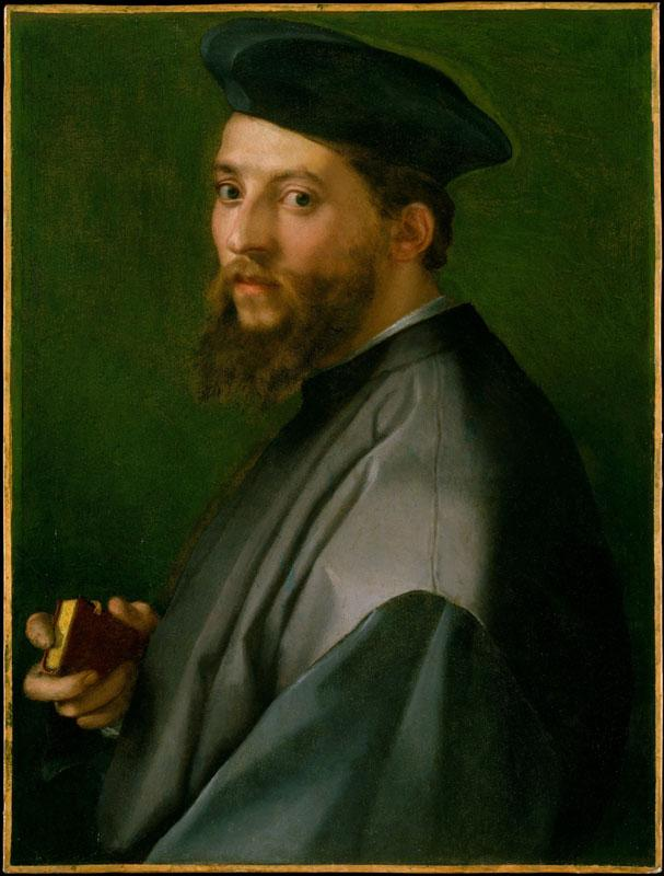 Andrea del Sarto--Portrait of a Man