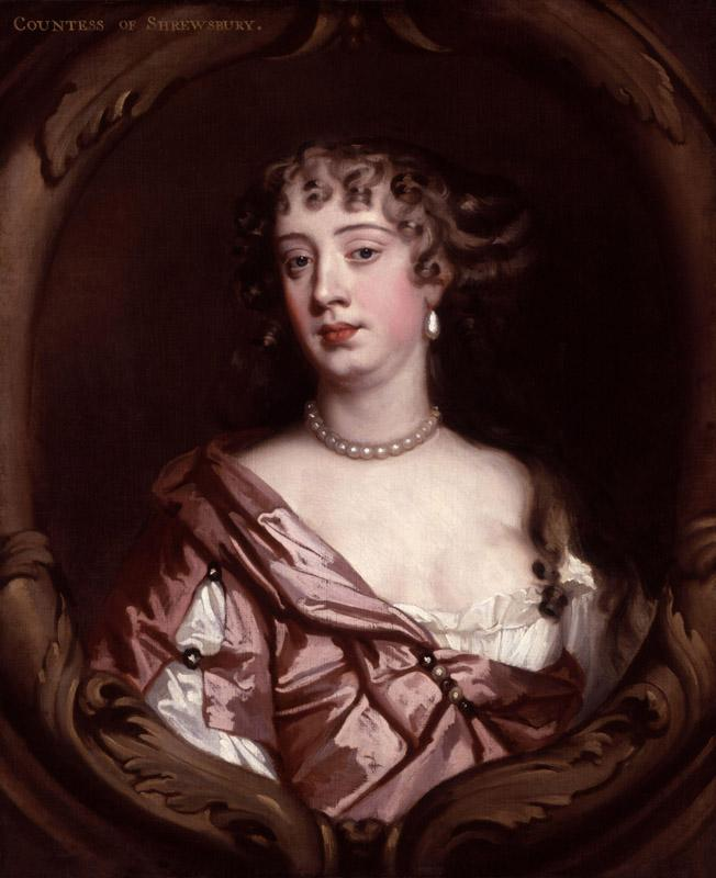 Anna Maria (Brudenell), Countess of Shrewsbury by Sir Peter Lely