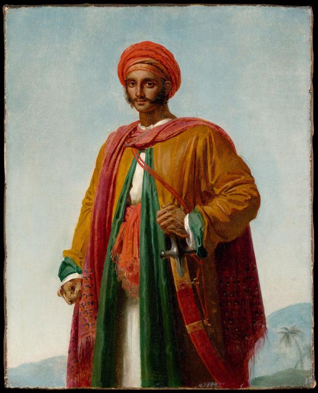 Anne Louis Girodet-Trioson--Study for Portrait of an Indian