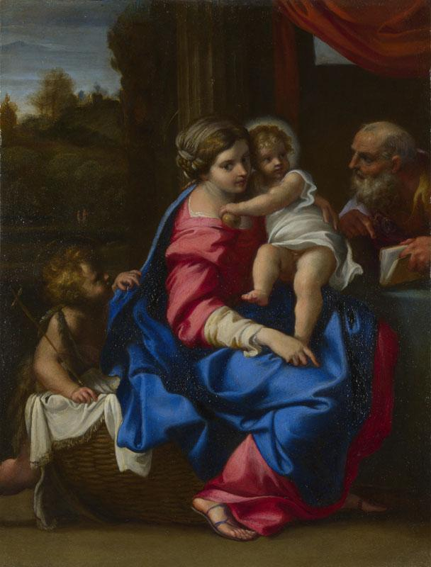 Annibale Carracci - The Holy Family with the Infant Saint John the Baptist
