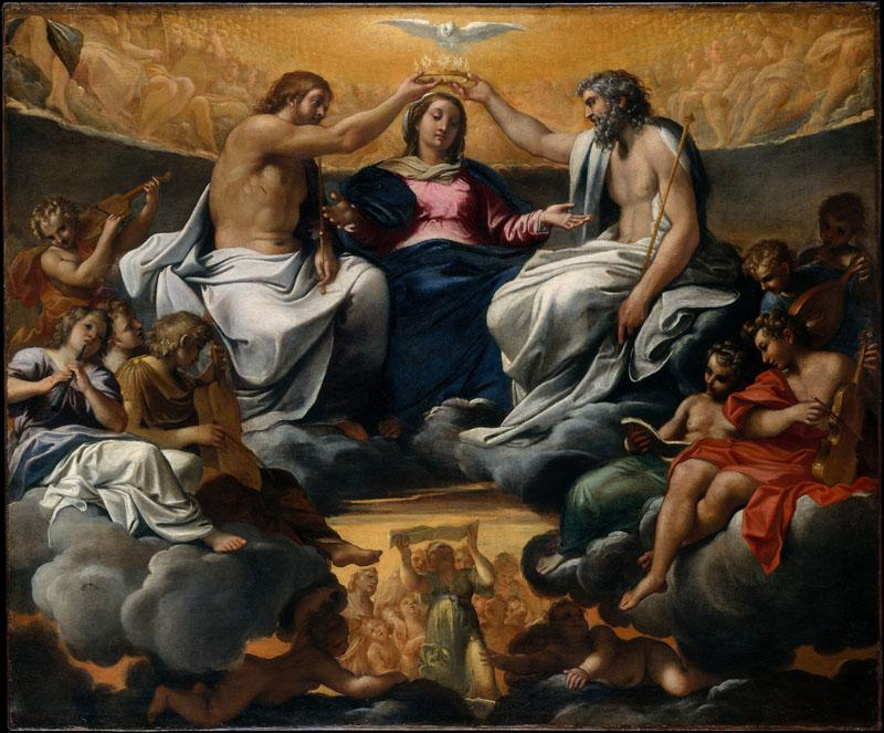 Annibale Carracci--The Coronation of the Virgin