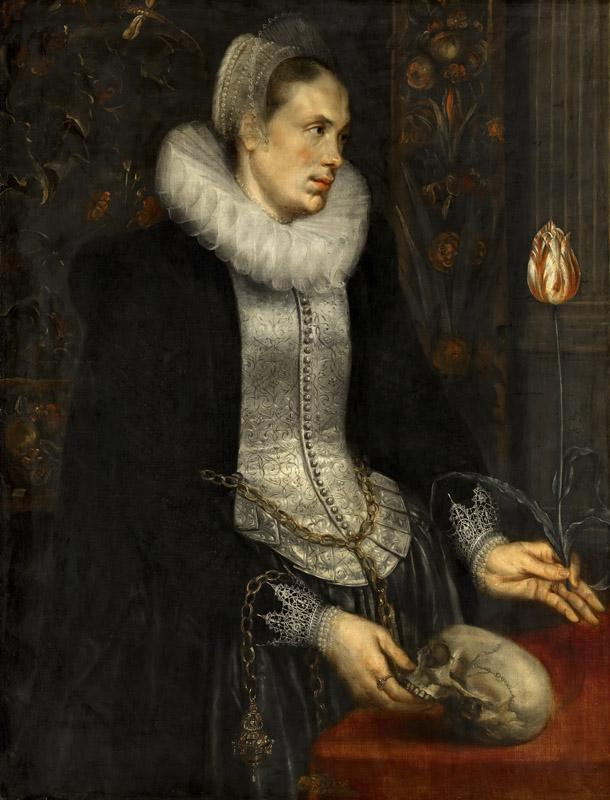 Anonymous (Southern Netherlands) - Portrait of a Lady